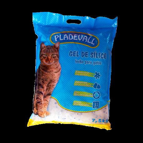 Pladevall arena silice gatos