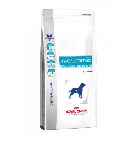 Royal canin canine hypoallergenic canine moderate calorie