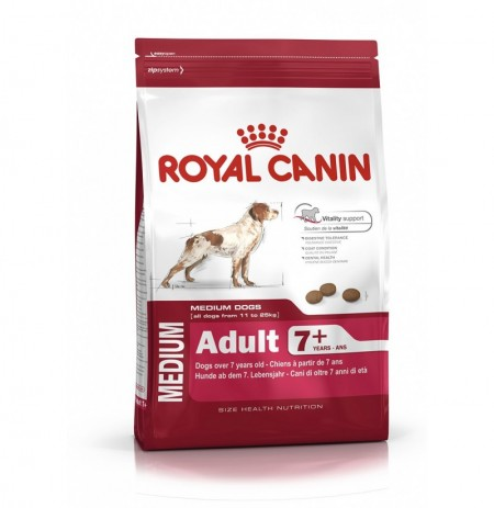 Royal canin medium adult +8