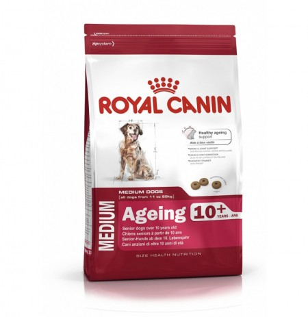 Royal canin medium ageing +10