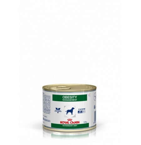 Royal canin wet canine obesity lata