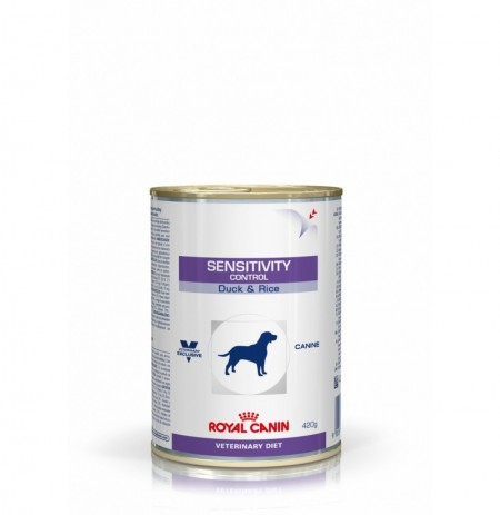 Royal canin wet canine sensitivity control duck