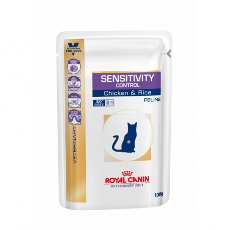 Royal canin wet feline sensitivity control sobre