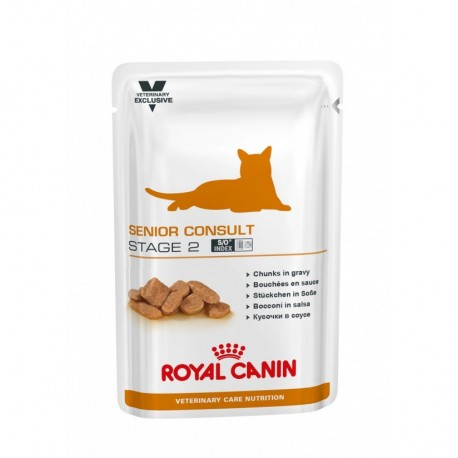 Royal canin wet vet cat senior consult stage 2 sobre