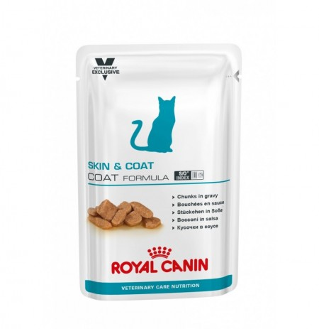 Royal canin wet vet cat skin&coat sobre