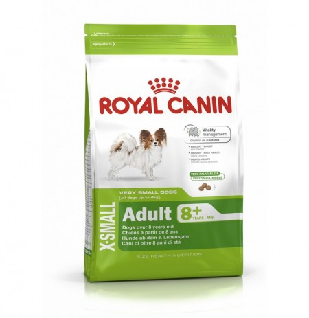 Royal canin x-small adult +9