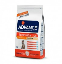 Advance adult sensitive cat salmon & rice (salmón y arroz)