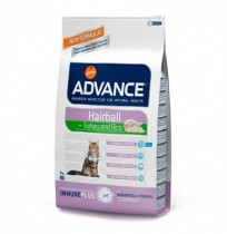 Advance cat hairball bolas de pelo turkey & rice (pavo y arroz)