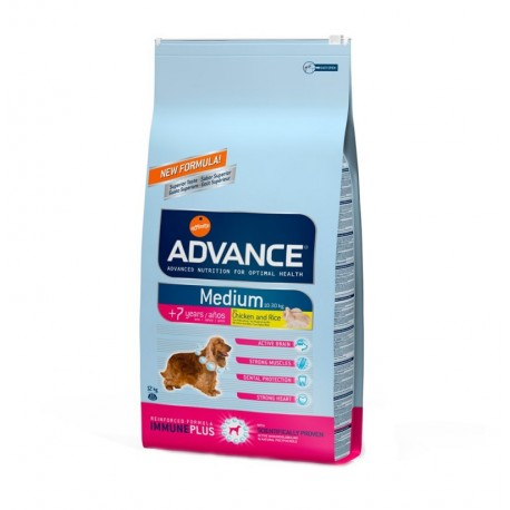 Advance medium senior chicken & rice (pollo y arroz)