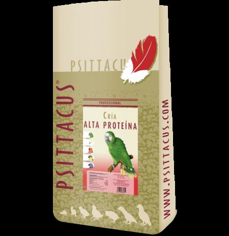 Psittacus fórmula cría alta proteina