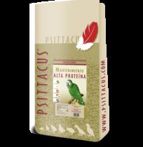 Psittacus pienso manten. alta proteína