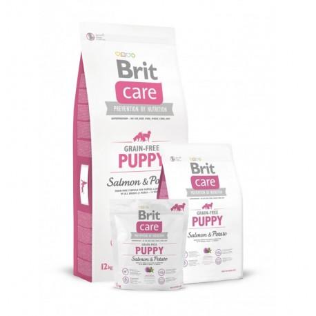 Brit care grain free puppy (salmón y patata)
