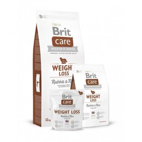 Brit care weight loss (conejo y arroz)