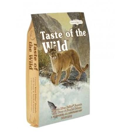 Taste of the wild canyon river cat (trucha y salmón)
