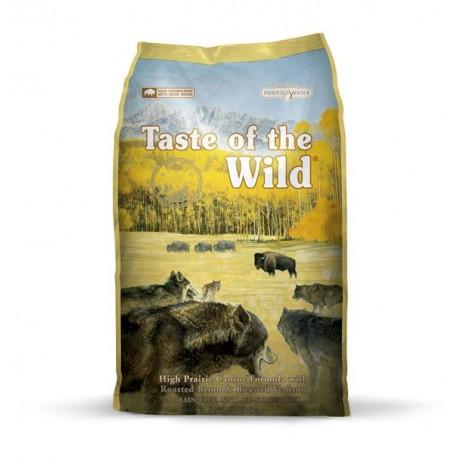 Taste of the wild high prairie dog (bisonte, cordero y ciervo)