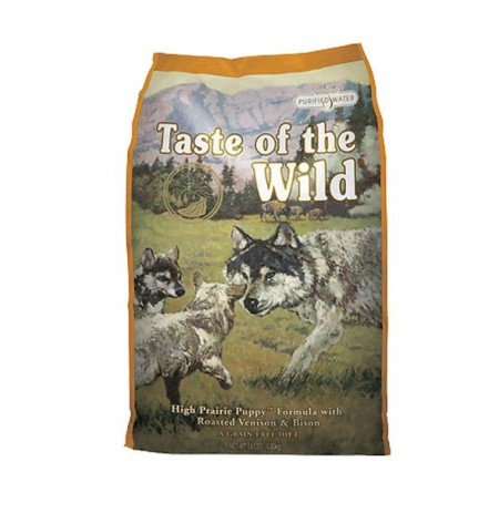 Taste of the wild high prairie puppy dog (bisonte, cordero y ciervo)