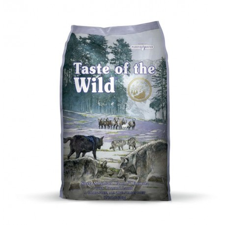 Taste of the wild sierra mountain dog (cordero)