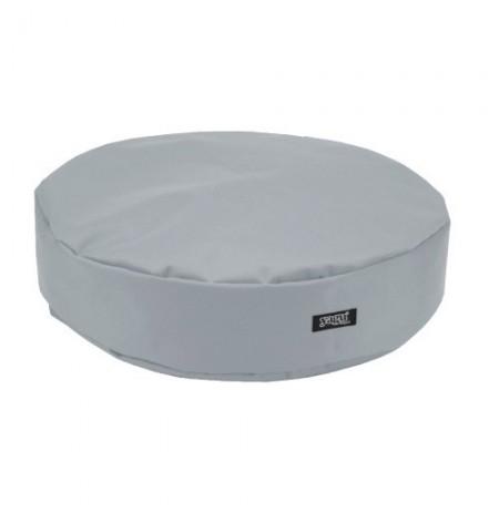 Yagu colchón ronda gris