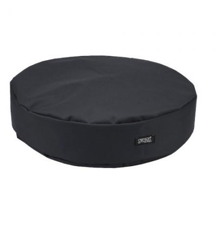 Yagu colchón ronda negro