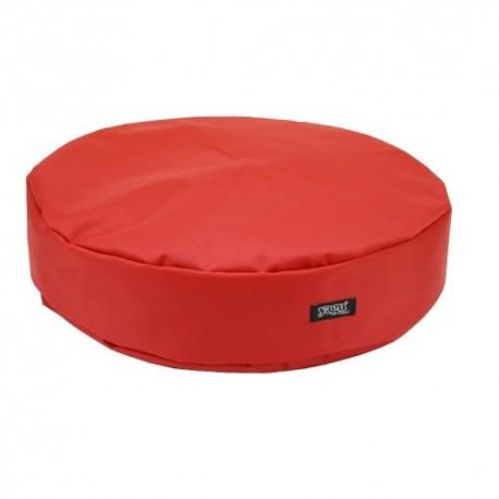Yagu colchón ronda rojo