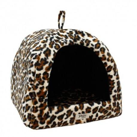 Yagu igloo pelo fino leopardo