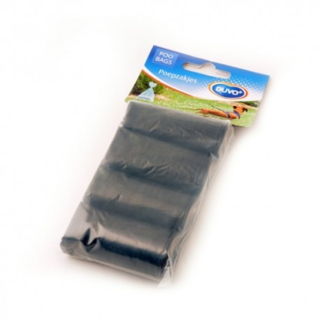 Duvo bolsitas higiénicas negras 4x20