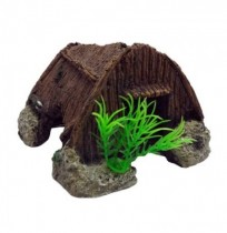 Duvo casa madera decoración acuario