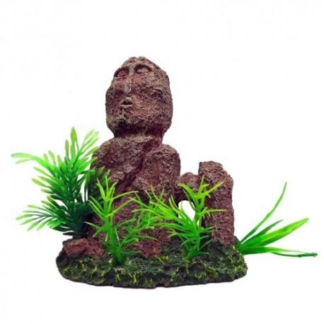 Duvo figurita faceless decoración acuario