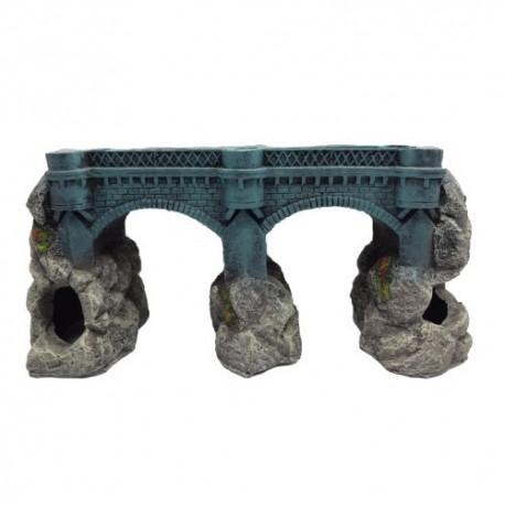 Duvo puente decoración acuario n37