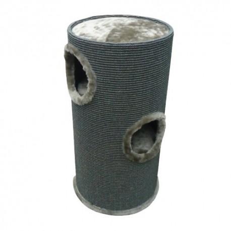 Duvo rascador tower gris para gatos