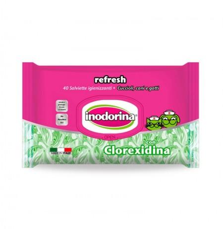 Inodorina refresh toallitas clorexidina