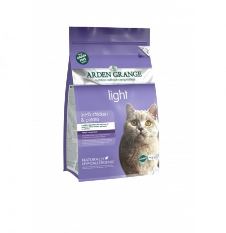Arden grange cat gato light pollo y patata