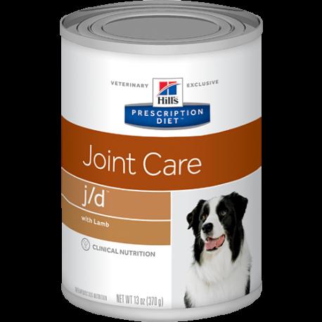 Hill's prescription diet canine j/d con cordero (lata)