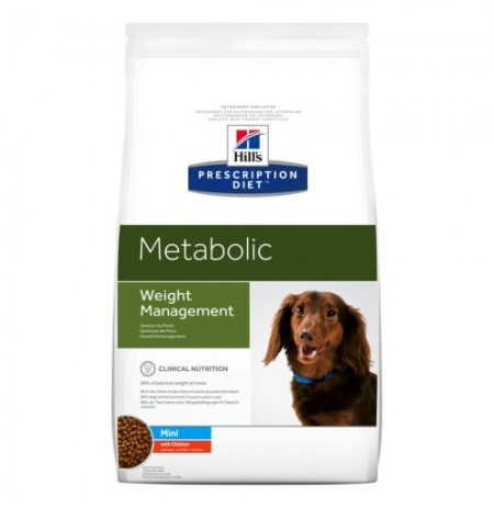 Hill's prescription diet canine metabolic mini con pollo
