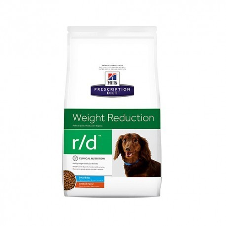 Hill's prescription diet canine r/d mini weight reduction sabor pollo