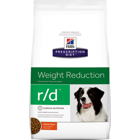 Hill's prescription diet canine r/d weight reduction sabor pollo