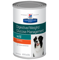Hill's prescription diet canine w/d digestive/weight/glucose management con pollo (lata)
