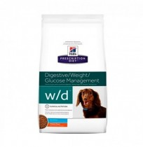 Hill's prescription diet canine w/d mini digestive/weight/glucose management sabor pollo