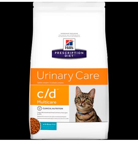 Hill's prescription diet feline c/d con pescado