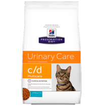 Hill's prescription diet feline c/d con pescado