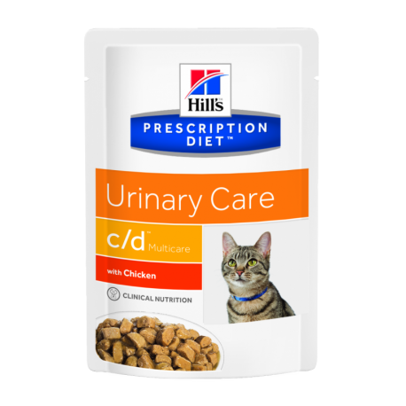 Hill's prescription diet feline c/d con pollo (bolsita)