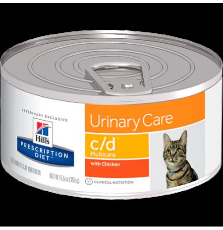 Hill's prescription diet feline c/d con pollo (lata)