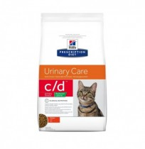 Hill's prescription diet feline c/d urinary stress reduced calorie pollo
