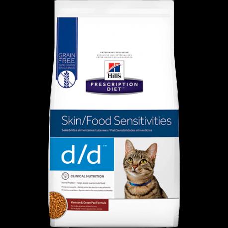 Hill's prescription diet feline d/d venado y guisantes verdes