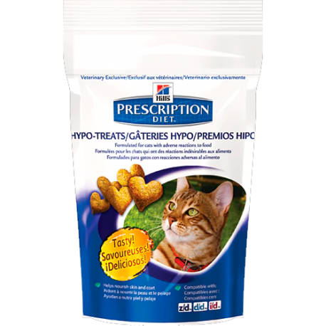 Hill's prescription diet feline hypoallergenic treats (premios)