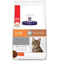 Hill's prescription diet feline k/d + mobility sabor pollo
