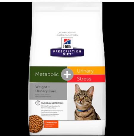 Hill's prescription diet feline metabolic + urinary stress sabor pollo