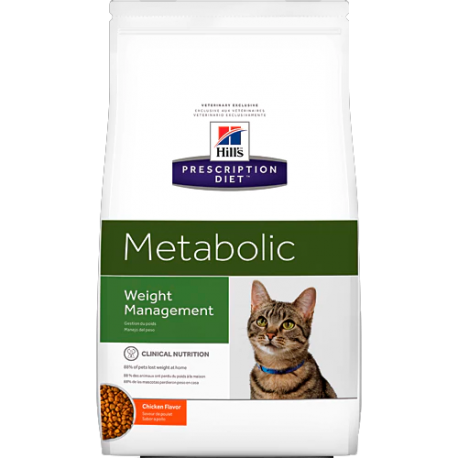 Hill's prescription diet feline metabolic sabor pollo