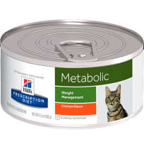 Hill's prescription diet feline metabolic sabor pollo (lata)