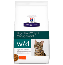 Hill's prescription diet feline w/d digestive/weight/glucose management con pollo